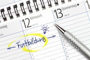 Kalendereintrag: Fortbildung